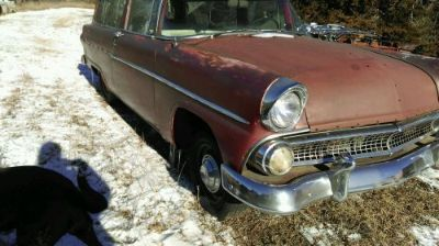 Sell 1955 55 56 ford 2 door ranch wagon NR project barnfind ratrod motorcycle in Kearney, Nebraska, United States