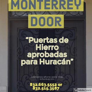 Puertas de Hierro aprobadas para Huracanes