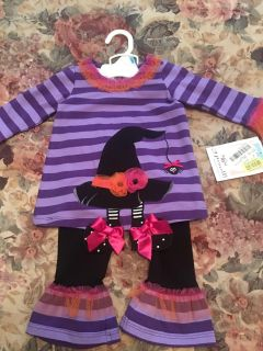 New with tags from Dillard s. Adorable two piece Halloween outfit.