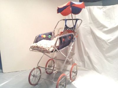 Baby Doll Stroller (Vintage German Child's)