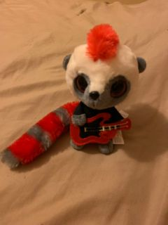 Rock in Roll playing movie plush
