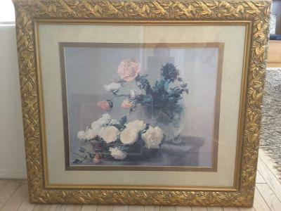 Beautiful Designer large framed art.