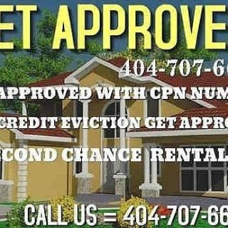 Need. Second Chance Rental House Or Apartment Vehicle Or New Credit. $75 CPN/ SCN  404-707-6645