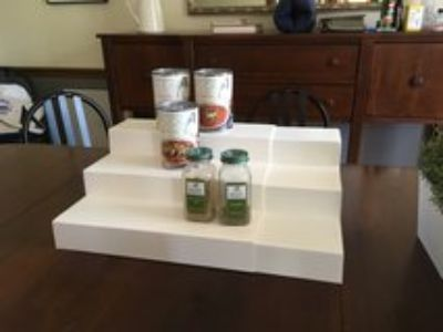 Expandable Tiered Pantry Organizer