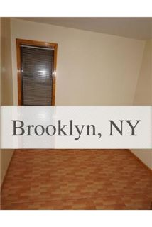House for rent in Brooklyn. Washer/Dryer Hookups!