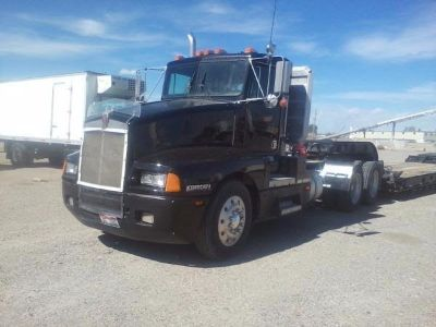 1988 Kenworth T600 and Loadking RGN Trailer Caterpillar  3406B