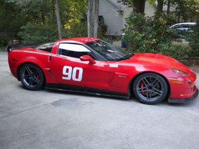 2007 C6 Z06 Corvette Track Car