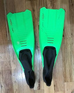 Mares Clipper Fins Green Large 45-46 10-11