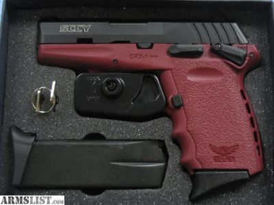 For Sale: SCCY CPX1 9mm