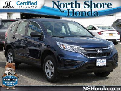 2015 Honda CR-V LX (blue)