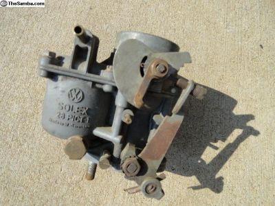 Volkswagen Beetle 28 PICT 1 Carburetor