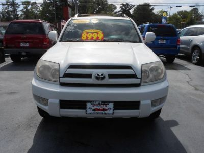 2005 Toyota 4Runner Limited (White)
