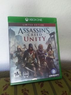 X-Box One Assassin's Creed Game