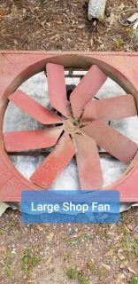 Large Commercial Grade Shop Fan. Made in the USA by CoolAir
