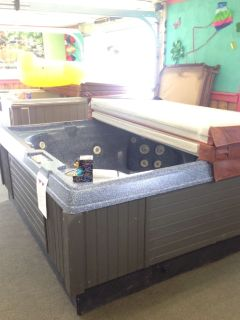 "Coleman Hot tub used for sale 90"" x 90"" x 35"" ready for delivery"