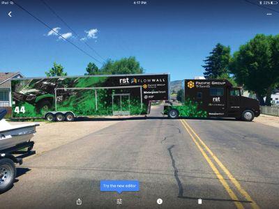 Kenworth Toterhome cobra stacker trailer