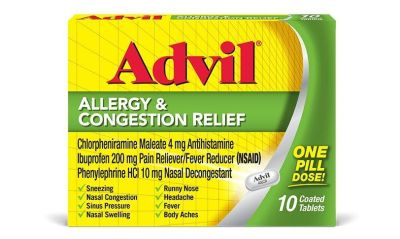 Advil Allergy & Congestion Relief Tablets