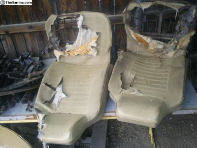 1974-75 Beetle seats