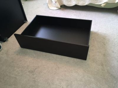 IKEA MALM underbed storage boxes(2) full/ double