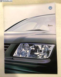 VW Bora Japanese Brochure