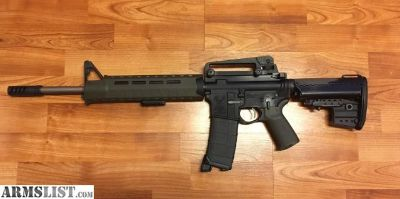For Sale: New Stag Arms AR 15 upgraded MP CHF 556 Palmetto barrel 1x7