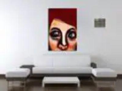 Maxwell Dickson quotEye Girl quot Modern Canvas Arrk Wall Ar