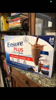 12 Ensure Bottles Chocolate $25 Retail