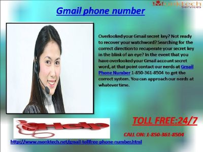 Call Gmail signal for the simplest Technical guide 1-850-361-8504
