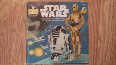 Star Wars Story Music and Photos Booklet/ 45 Record