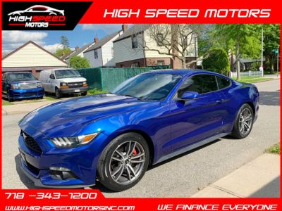 2015 Ford Mustang 2dr Fastback EcoBoost Premium (Deep Impact Blue Metallic)