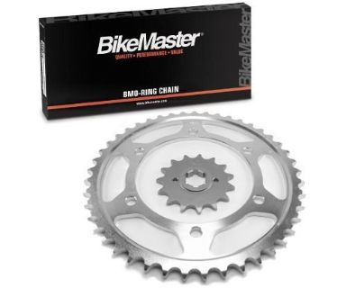 Find JT O-Ring Chain/Sprocket Kit 12-41 for Suzuki LT250E 1985 motorcycle in Hinckley, Ohio, United States, for US $78.32