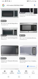 ISO: Stainless microwave