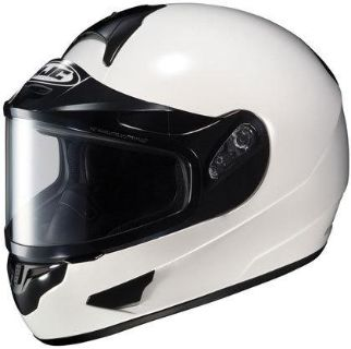 Purchase Small Sm S / HJC CL-16 White Snowmobile Helmet Dual Pane Shield motorcycle in Ashton, Illinois, US, for US $130.49