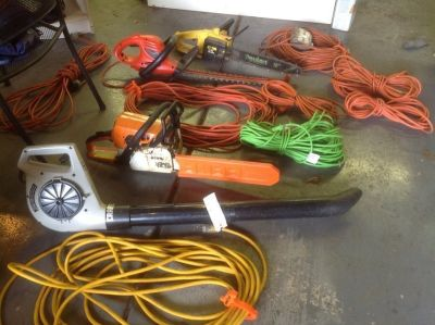 Electrical cords/leaf Blower