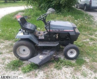 For Sale/Trade: Central Park Riding Mower