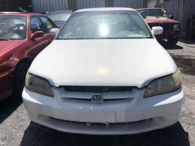 1998 Honda Accord LX (White)