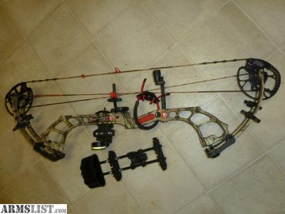 For Sale: PSE MADNESS COMPOUND BOW