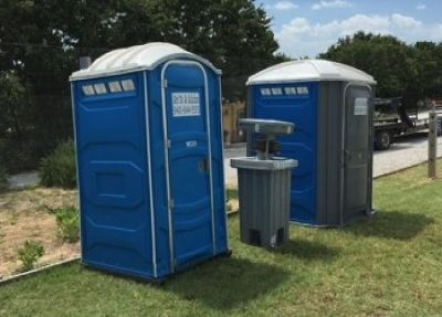 Luxurious portable toilet services in Texas