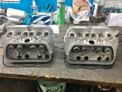 Rebuilt 040 single port heads