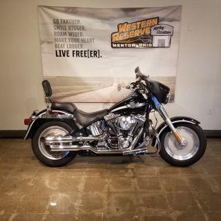 2003 Harley-Davidson FLSTF/FLSTFI Fat Boy Cruiser Mentor, OH