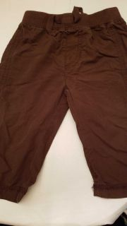Jumping beans 6-9m brown pants