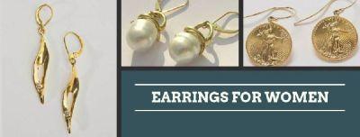Get Stylish Earrings for Women in California