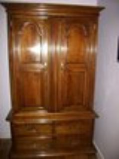 Kling Colonial Armoire Solid Wood Cabinet