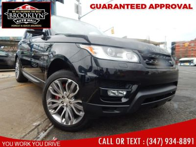 2014 Land Rover Range Rover Sport Supercharged (Barolo Black Metallic)