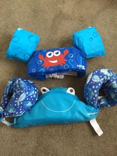 Toddler swim devices