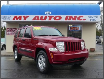 2010 Jeep Liberty Sport (Inferno Red Crystal Pearl)