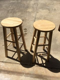 29 Natural Barstools set of 2