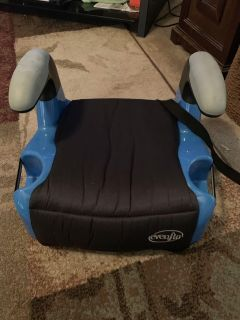 Evenflo booster seat - ppu (near old chemstrand & 29) or PU @ the Marcus Pointe Thrift Store (on W st)