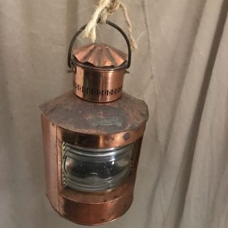 Copper Dutch Shipping Lantern