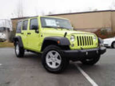 2017 Jeep Wrangler Unlimited Green